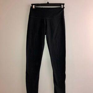 Black High Waist Ankle Length Leggings Size XS